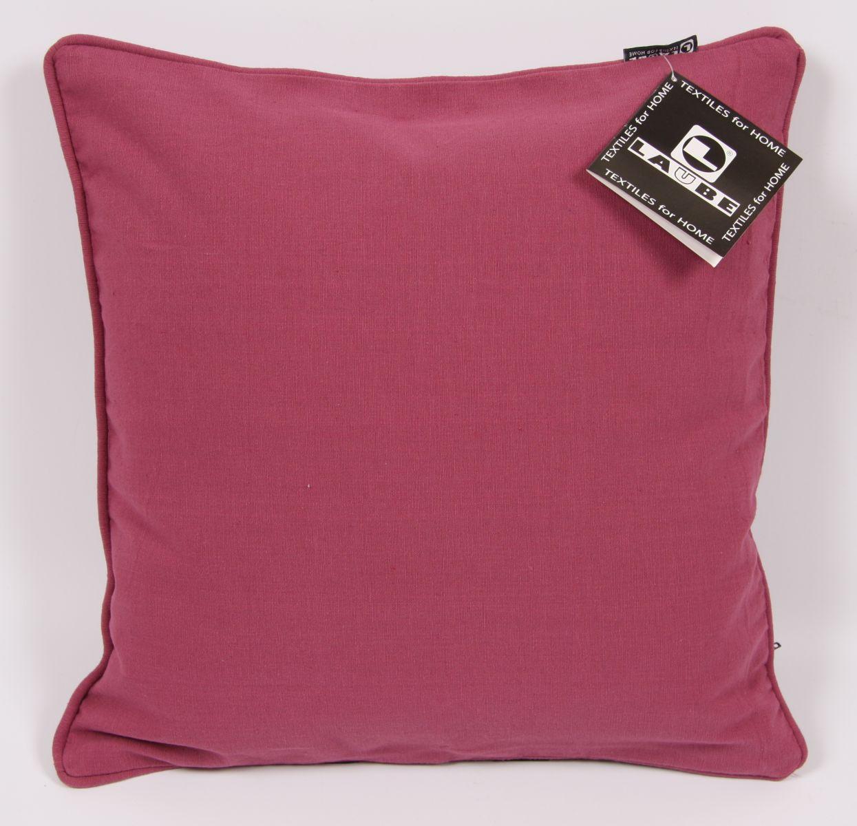 Povlak na polštářek Happy uni 40x40cm - Violet Quartz - vínová