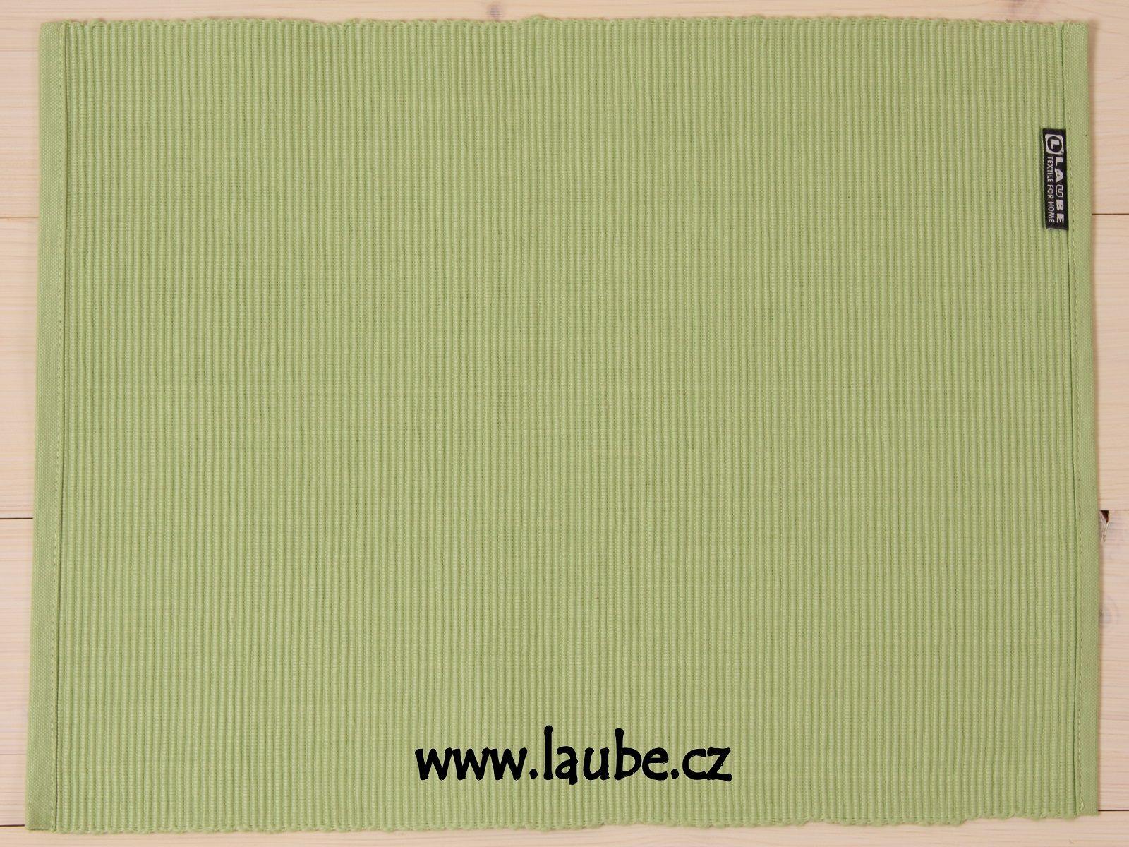 Prostírání Uni 30x42cm - pistácie