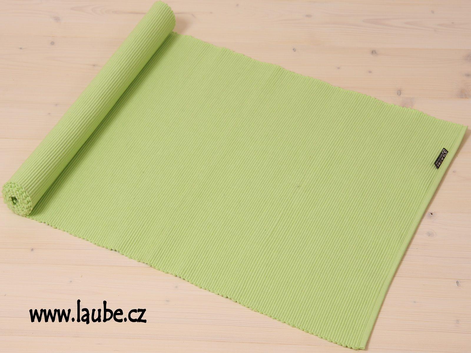 Běhoun na stůl Uni 42x130cm - Sap Green - světle zelená